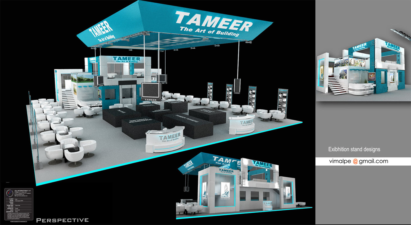 Exhibition Stand Designer Jobs In Dubai : Exhibition stands by vimal peethambaran at coroflot