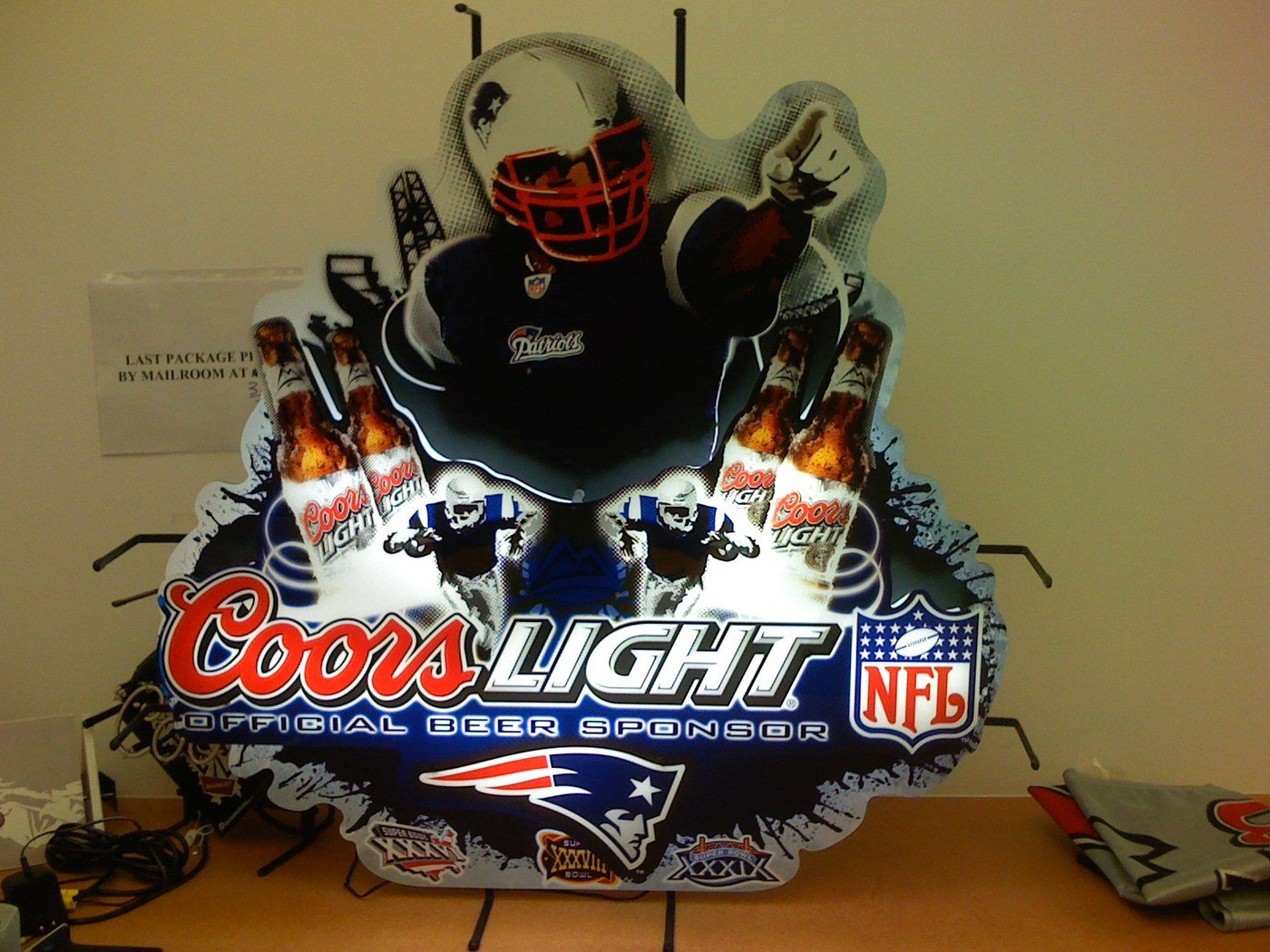 Coors Light Patriots 2007 By Kevin White At Coroflot Com