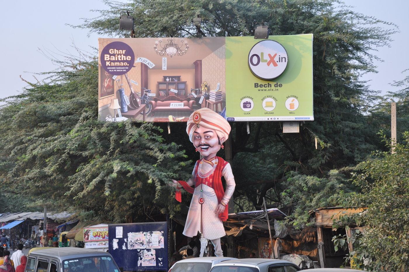 OLX -- Ghar Bethe Kamao by Mragank Sharma at Coroflot com