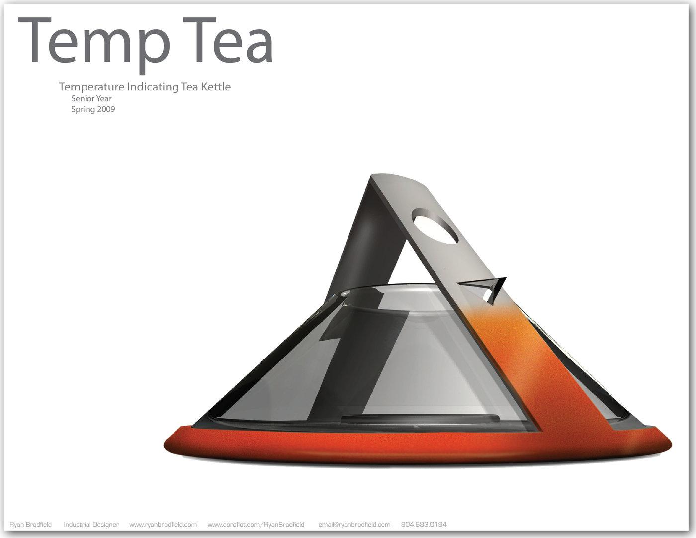 Temp Tea by Ryan Bradfield at Coroflot com