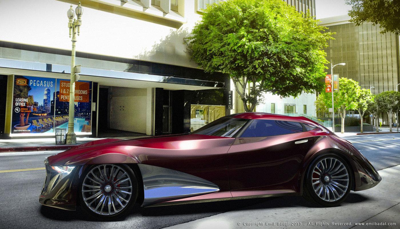 Audi Woodland Hills >> Bugatti Type X7S Concept by Emil Baddal at Coroflot.com