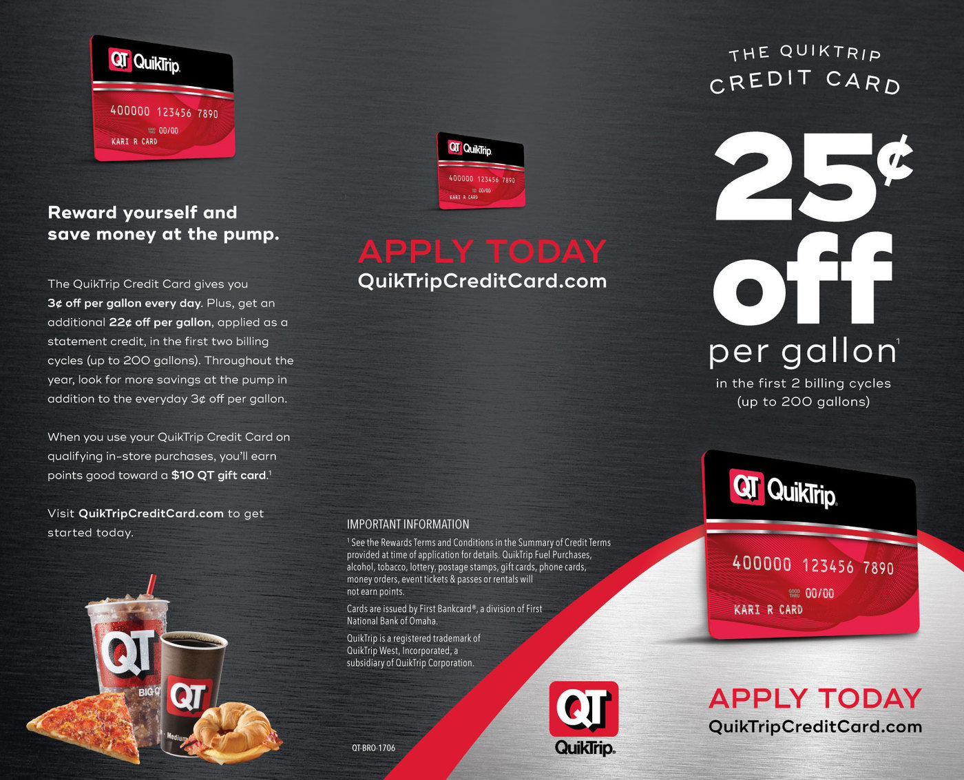 QuikTrip Collateral Refresh by Cory Polacek at Coroflot com