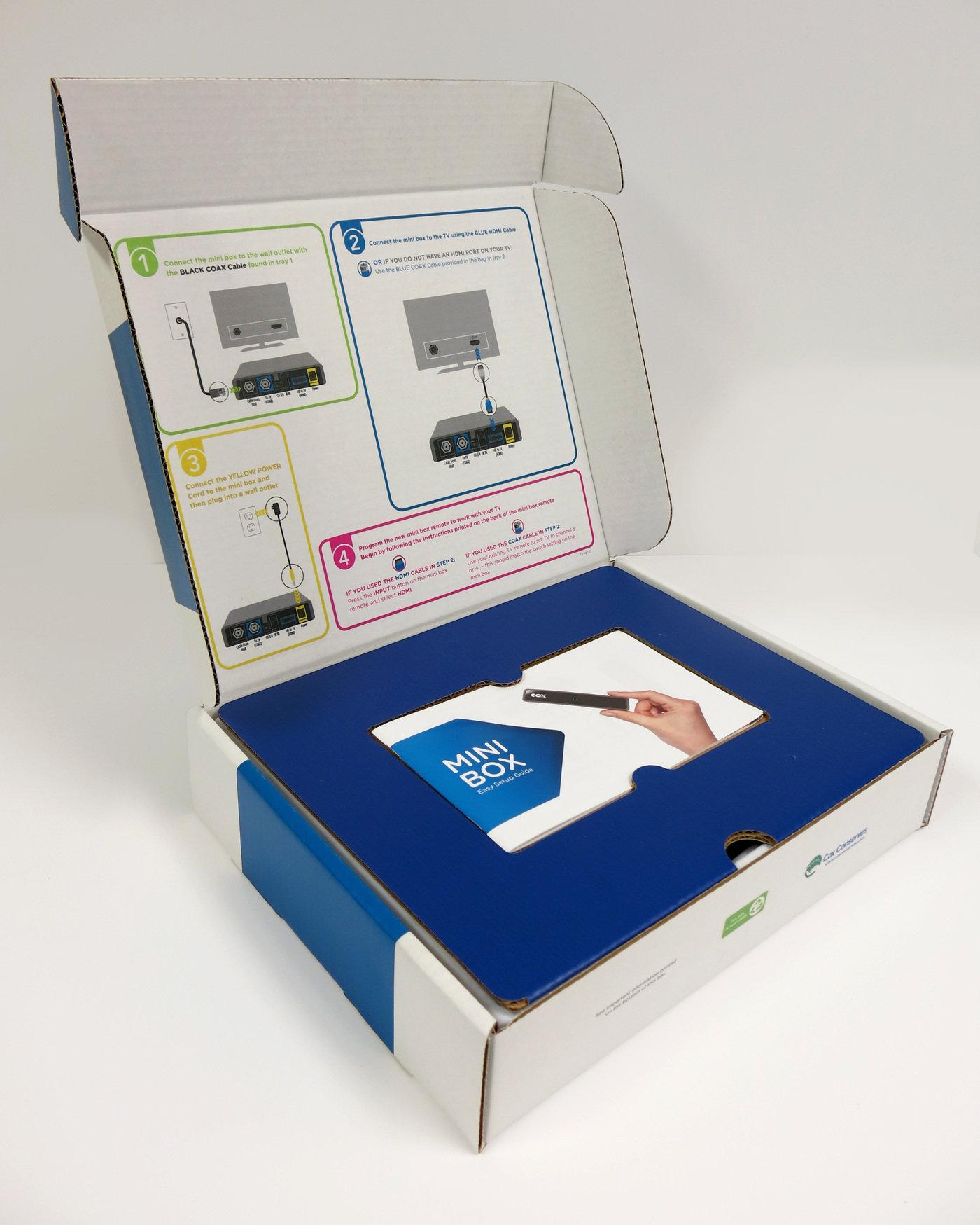 Cox Communications Mini Box By Robbie Workman At Coroflotcom