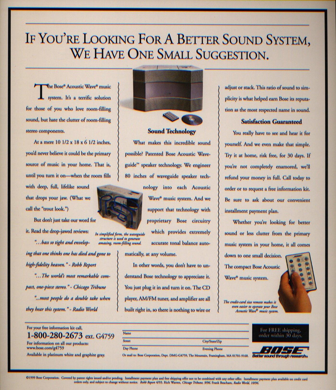 Bose by Kirtland Snyder at Coroflot com
