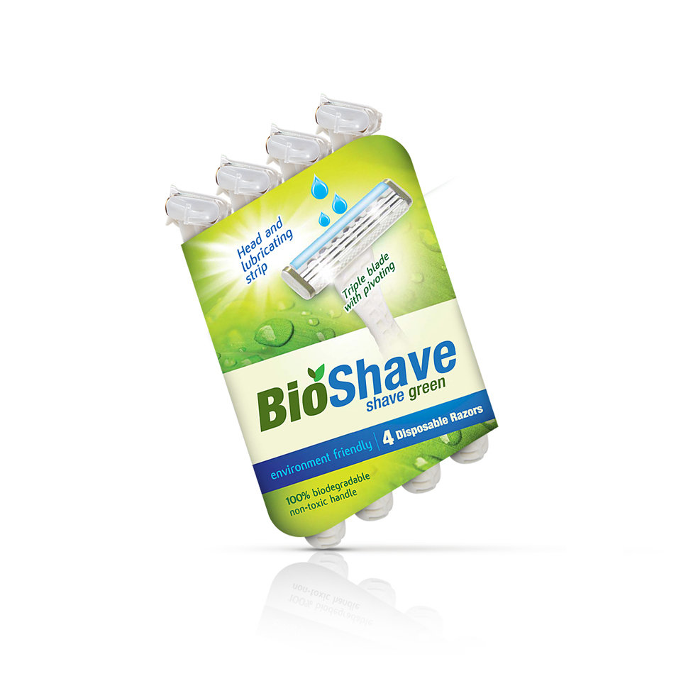 BioShave Green Razors by Rich Madrid at Coroflot com