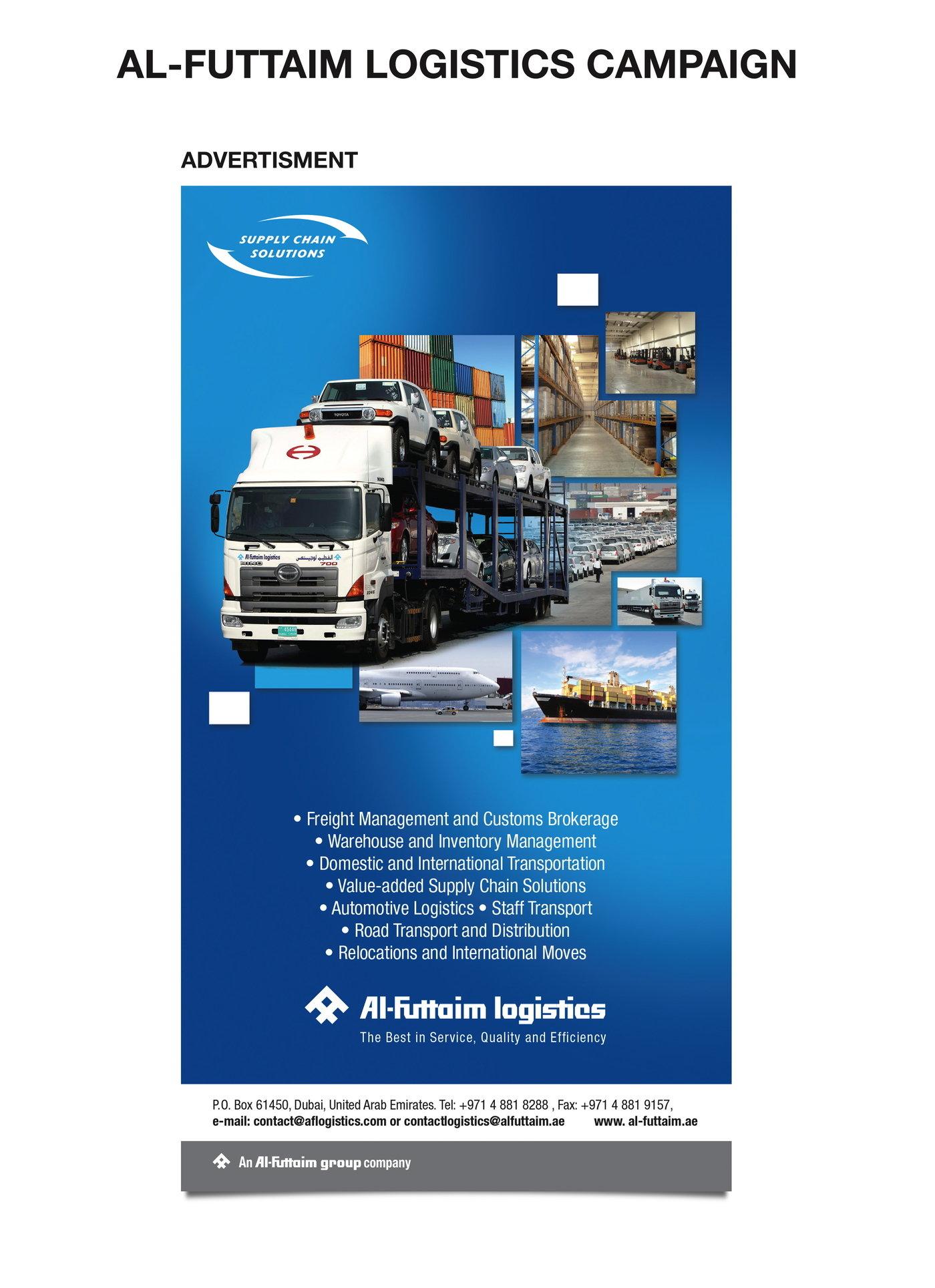 Al-Futtaim Logistics Campaign by Tarek Damouri at Coroflot com