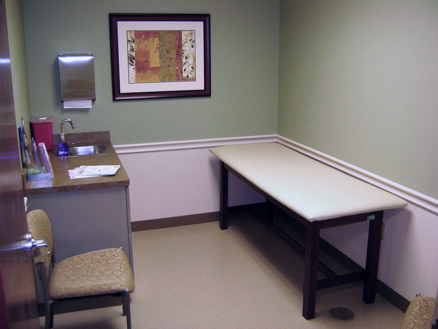 doctor office design. Patient Exam Room - Doctor\u0027s Office Interior Design Project For Women Only, Louisburg, KS Doctor