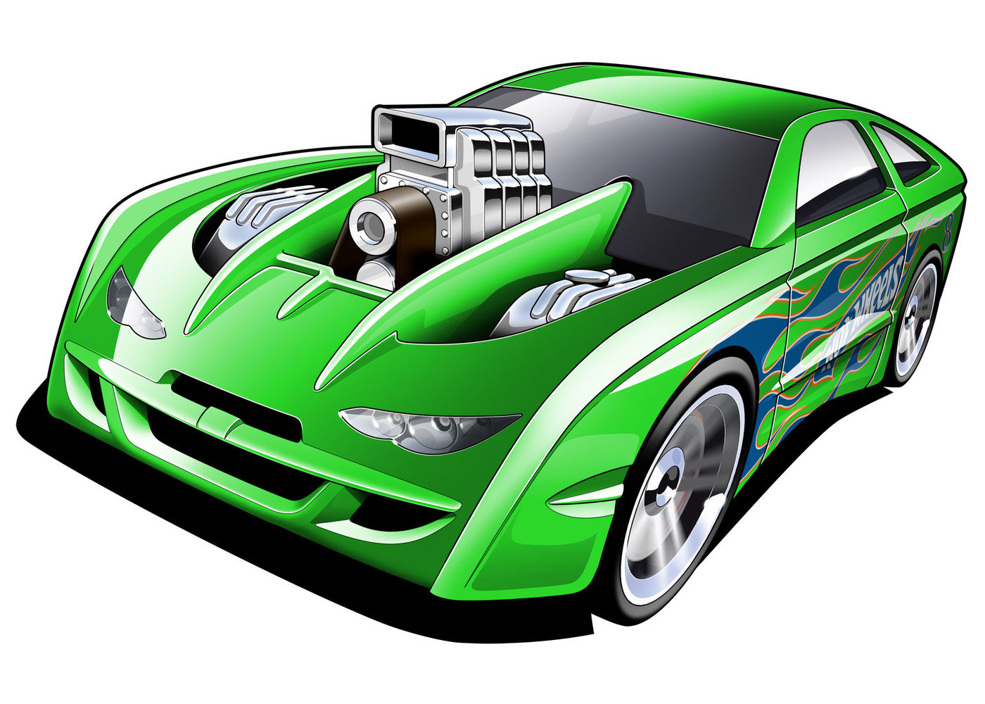 This is a picture of Magic Hot Wheels Pictures