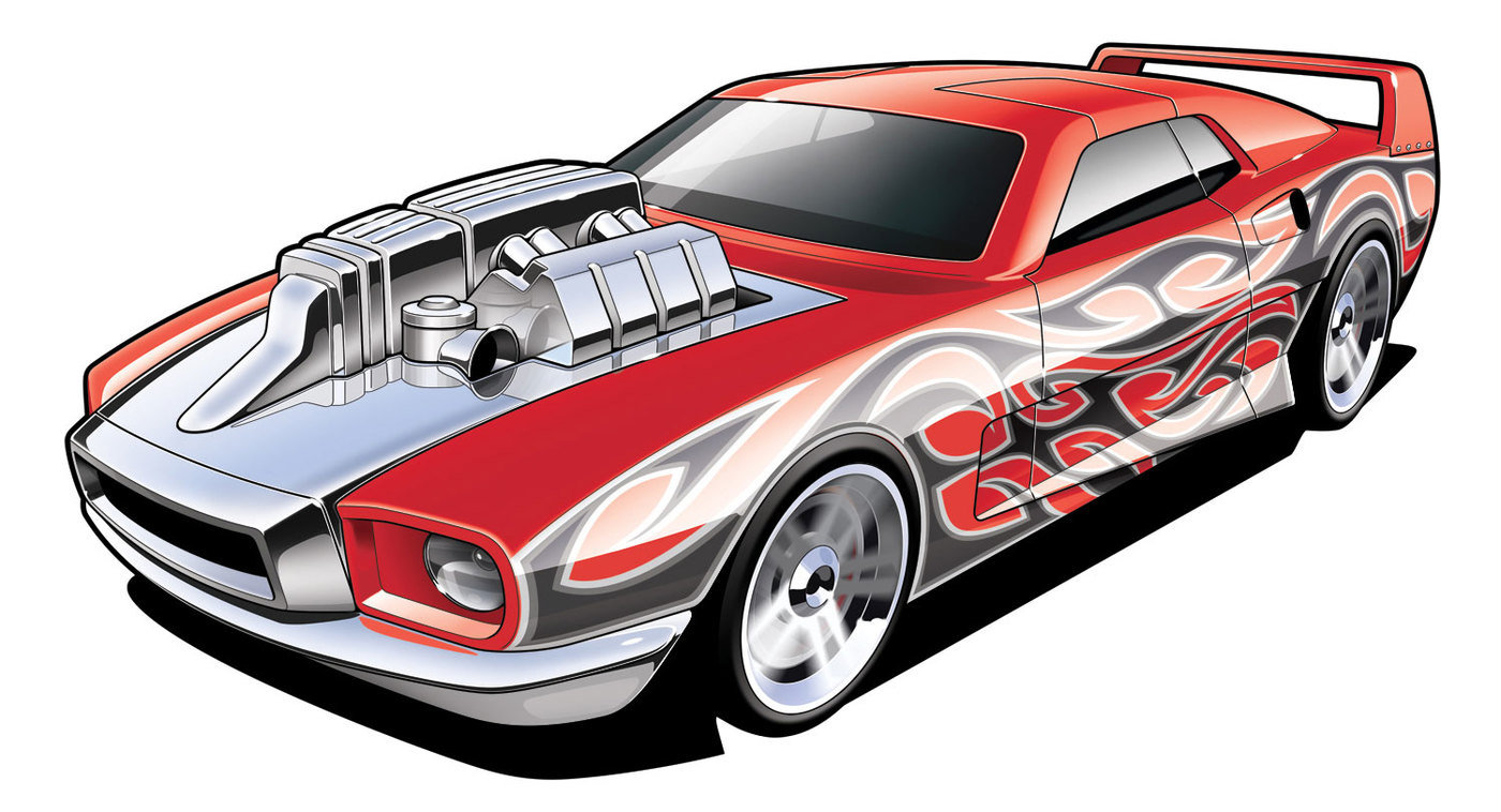 Hot Wheels Illustration By Jamie Seymour At Coroflot Com