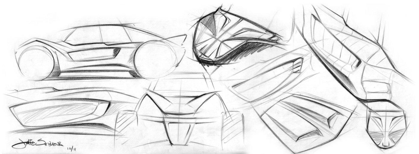 Axial EXO Terra Buggy Sketch