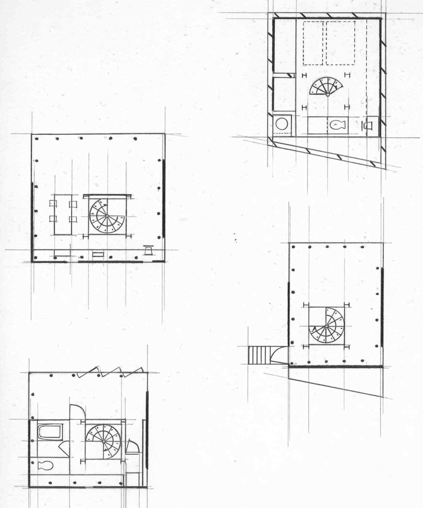 Picture of: Year One Recreating Villa Savoye Small House By Andre Kumar Alexander At Coroflot Com