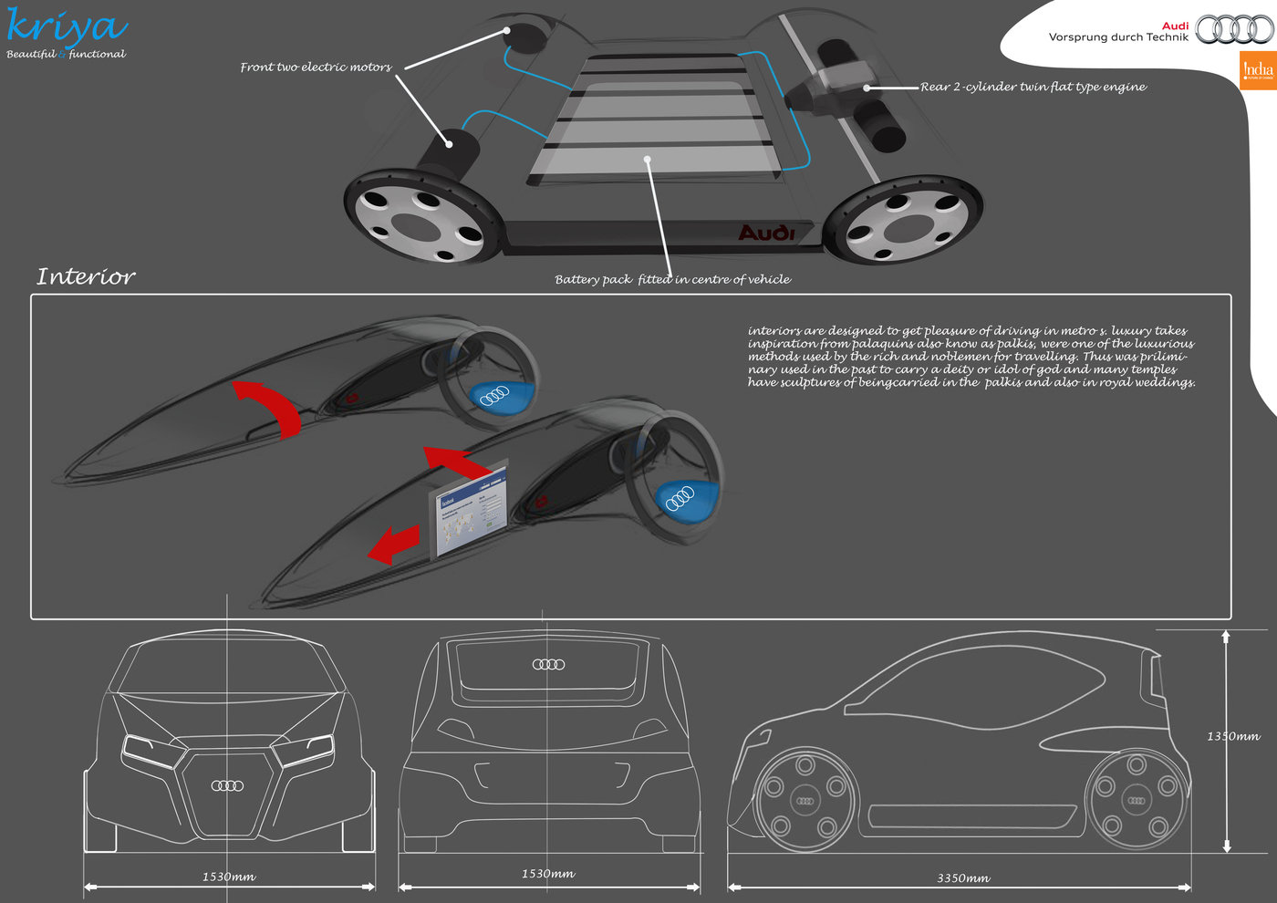 Audi Ifc Design Contest By Shantesh Angadi At 4 2 Engine Diagram Front Finalist Entry In More Simplicitymore Sensationalmore Seductive Car For India