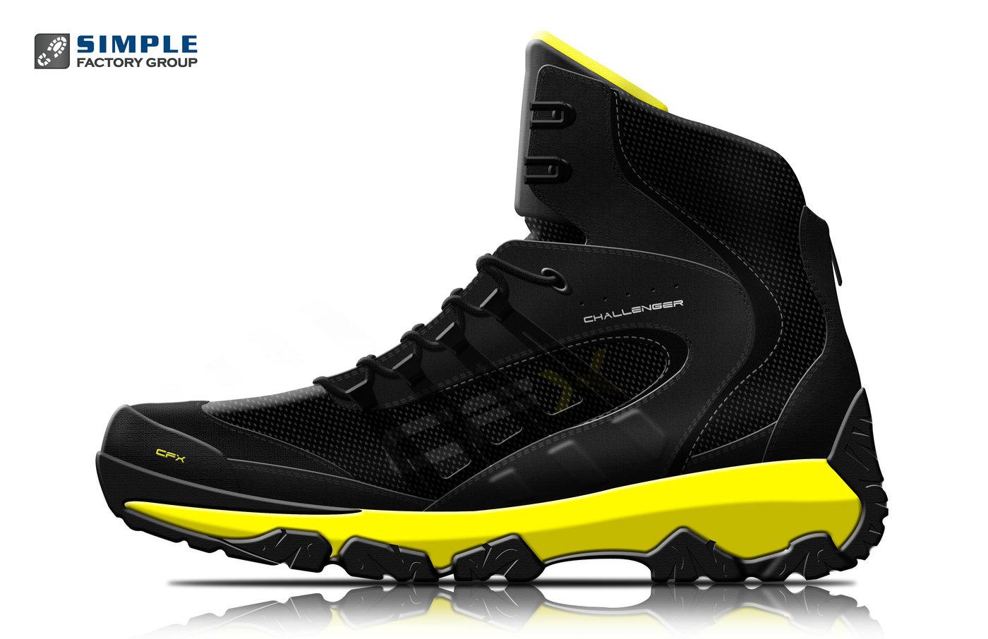 4824468454ba CFX Challenger - Ralph Lauren RLX inspired boot design.