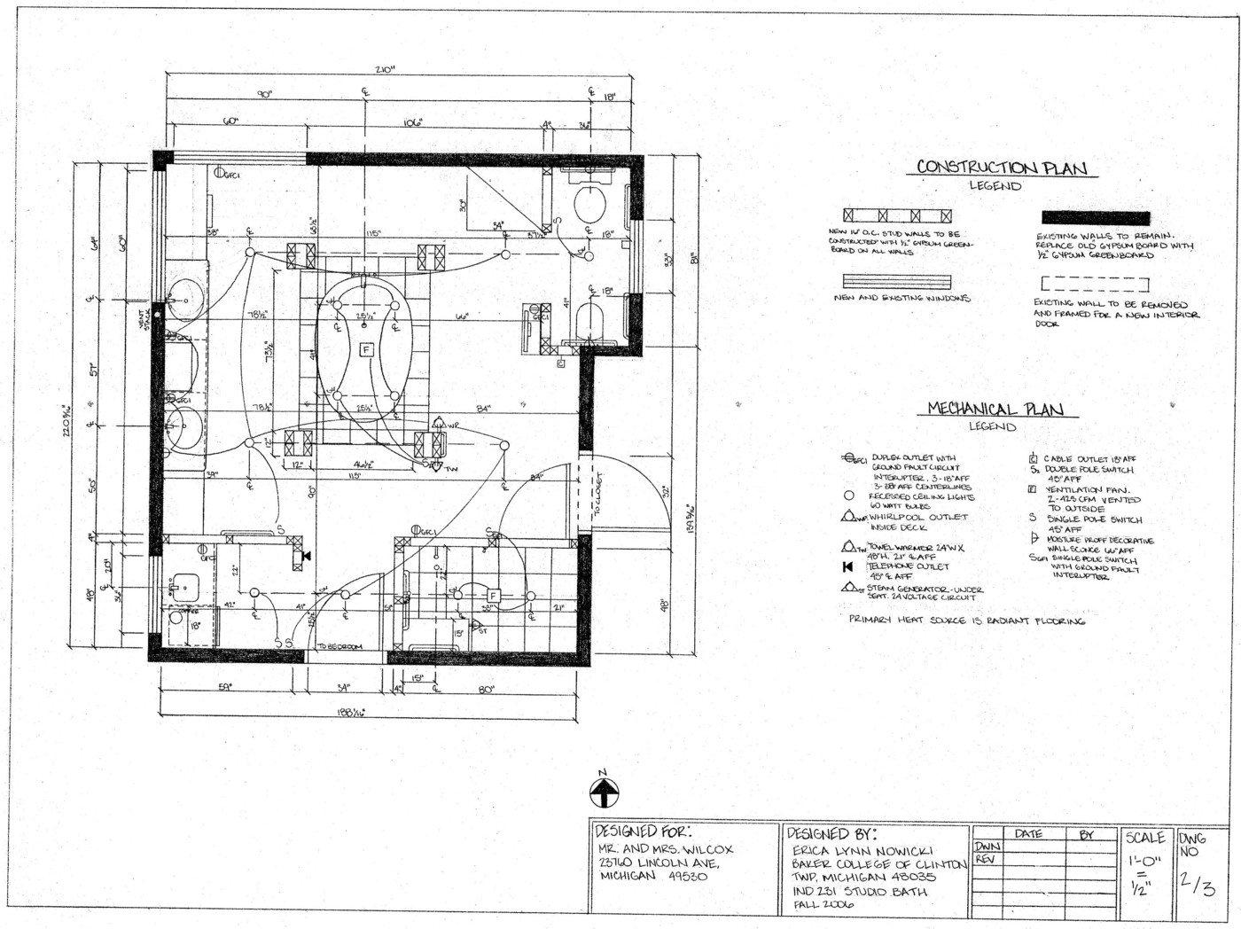 Bathroom Design by Erica (Nowicki) Snyder, LEED Green Assoc., AKBD ...