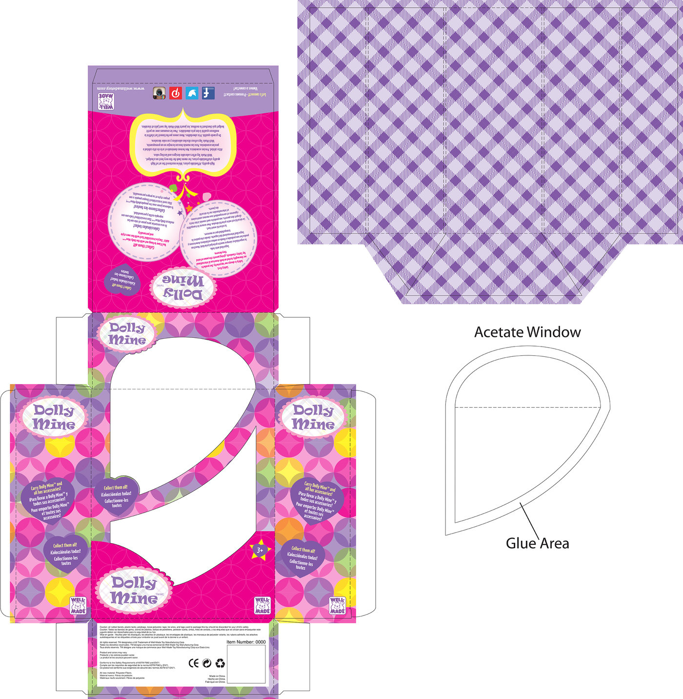 Packaging I Well Made Toys doll lines by Paul Lyren at