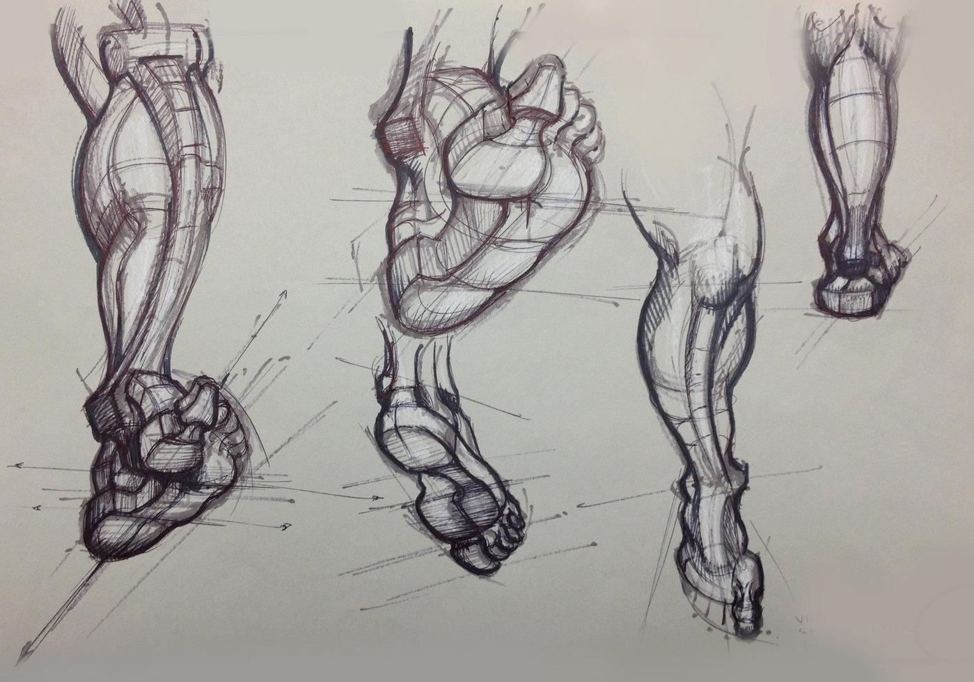Sketchbook Figure By Victoria Spriggs At Coroflot