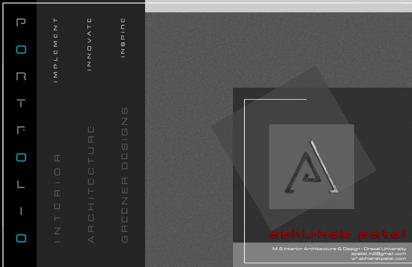 Interior Architecture Design Portfolio Sample By Abhishek