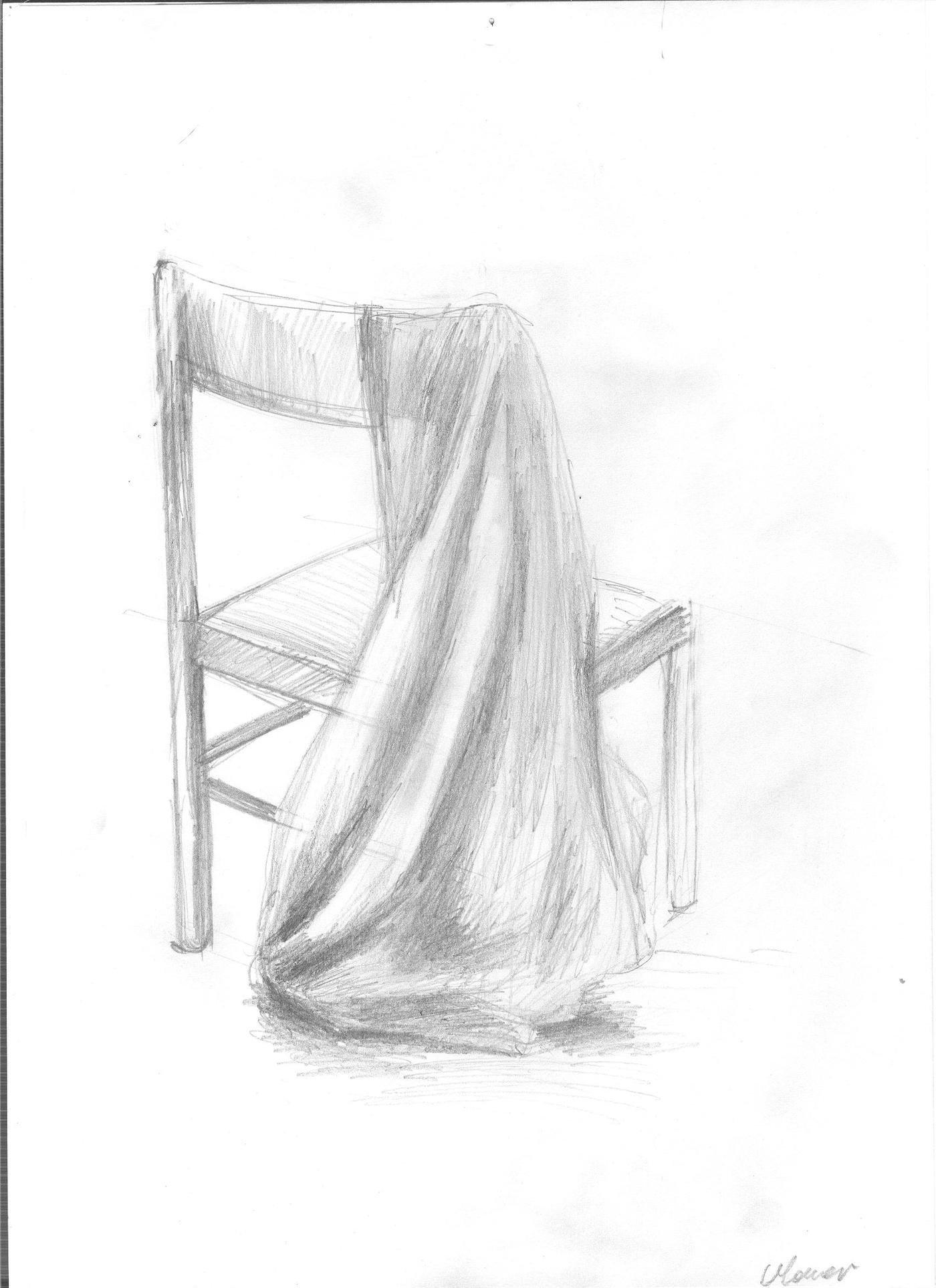 Rysunek Ołówkiem Draperia By Marta Mauer At Coroflotcom
