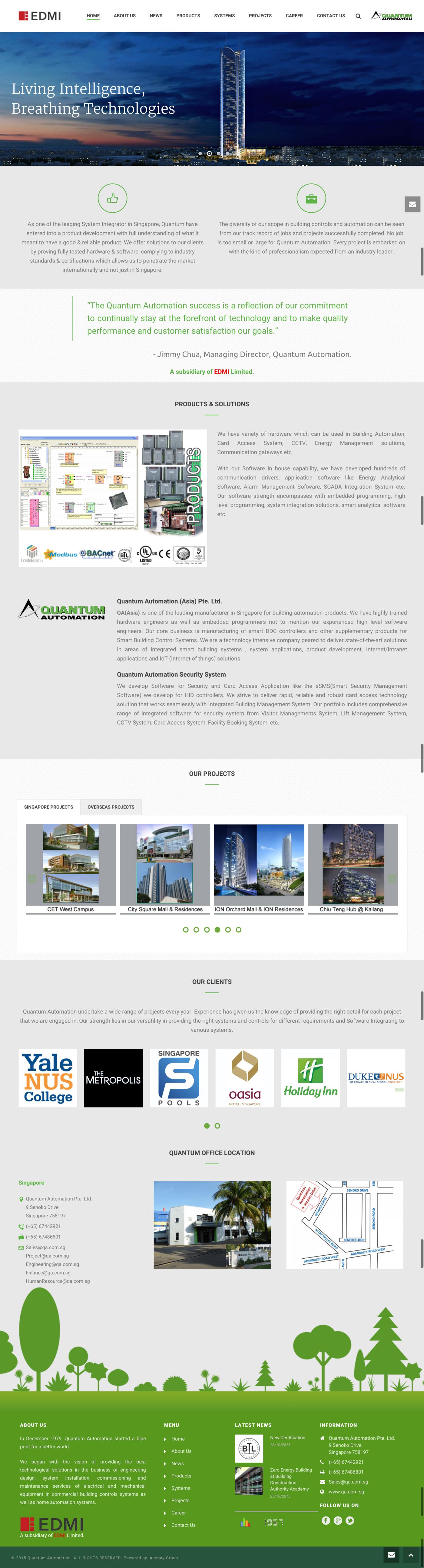 Website Design Cms By Raymond Li Dapeng At Coroflot Com