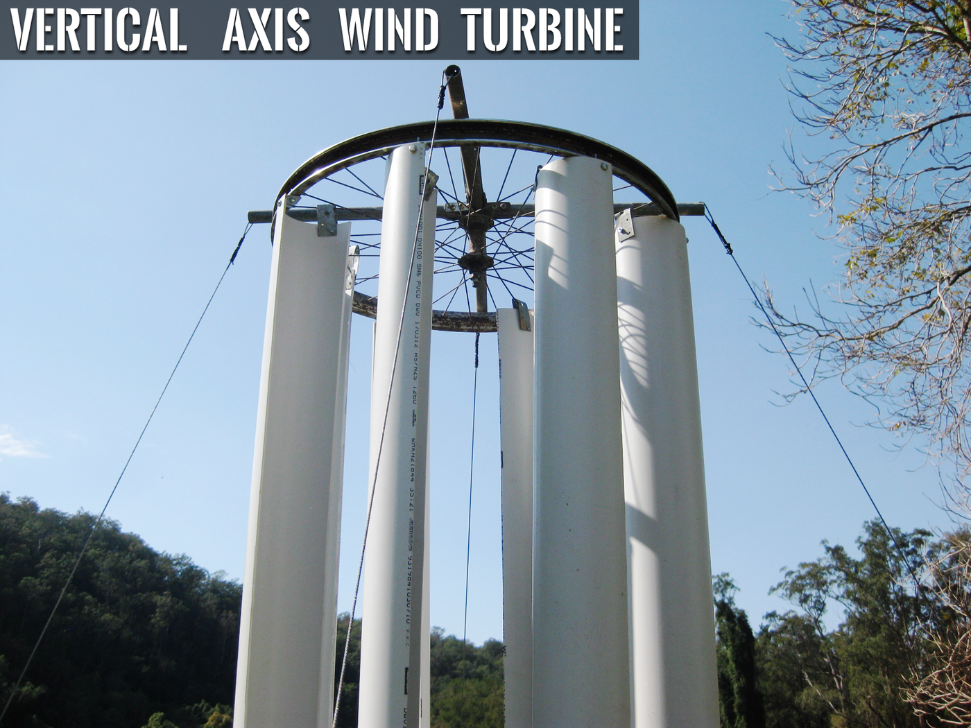 Vertical axis wind turbine by Julian G  Martin at Coroflot com