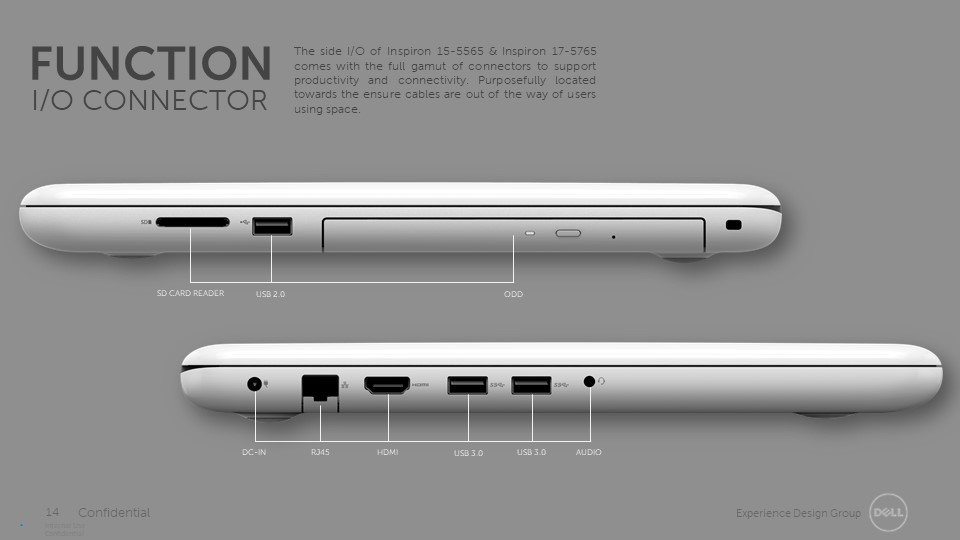 Dell inspiron 5565 & 5765 by Hank (Chien-Cheng) Chen at