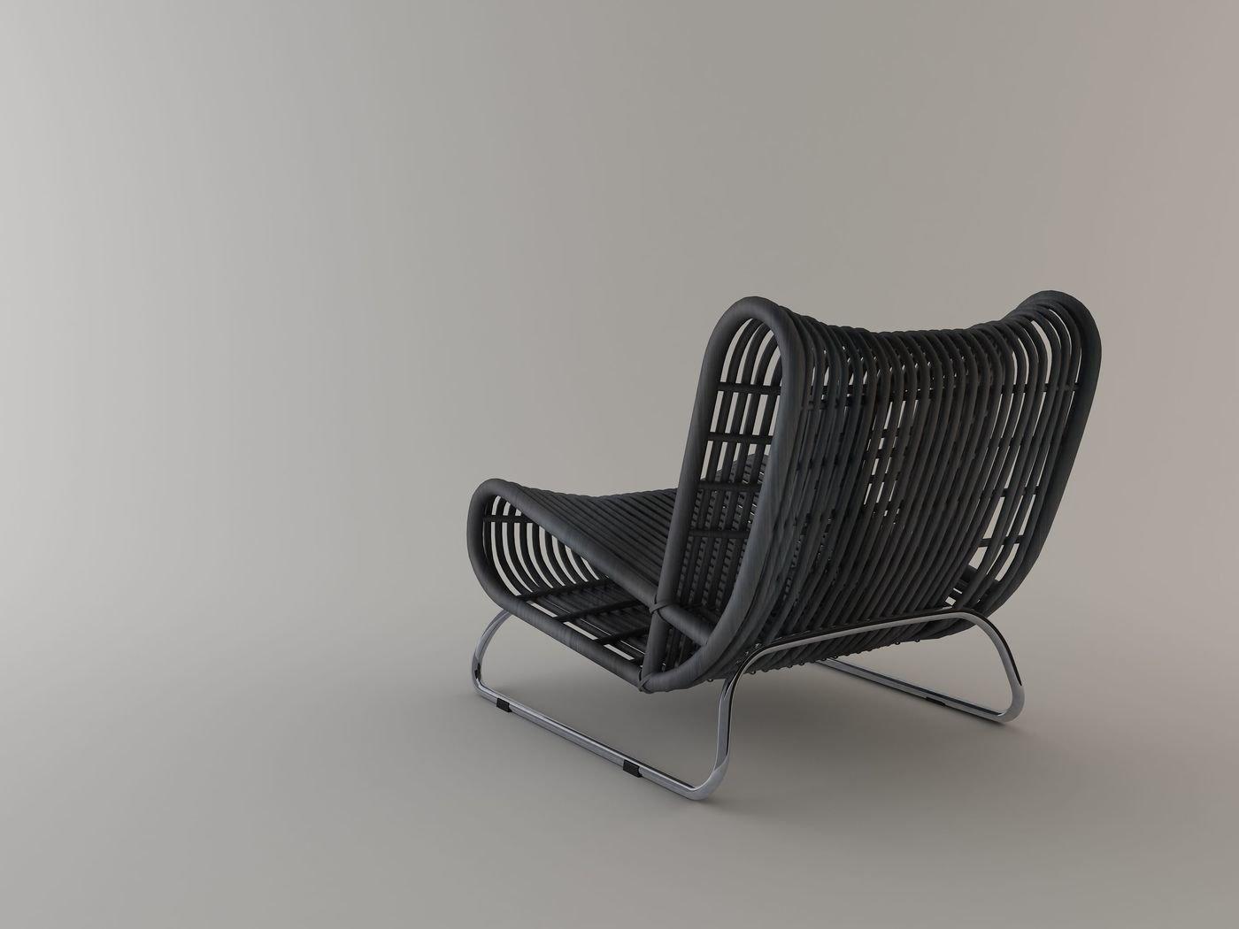 Astonishing Loop Lounge Chair By Abie Abdillah At Coroflot Com Customarchery Wood Chair Design Ideas Customarcherynet