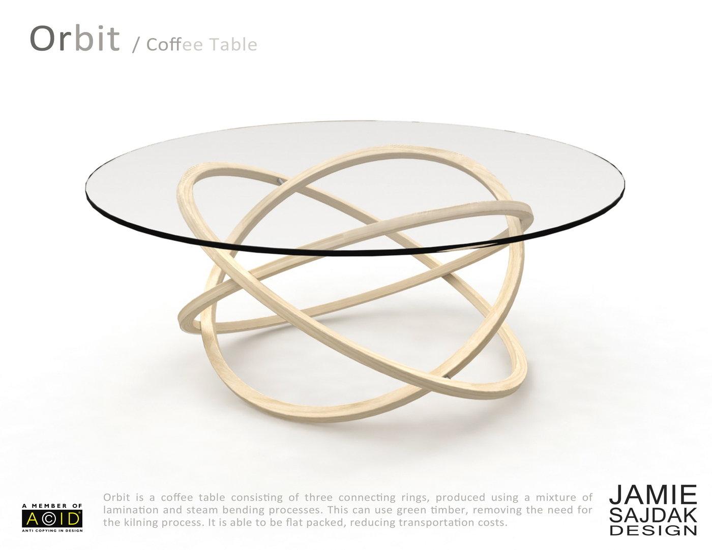 Orbit Coffee Table By Jamie Sajdak At Coroflotcom - Orbit coffee table