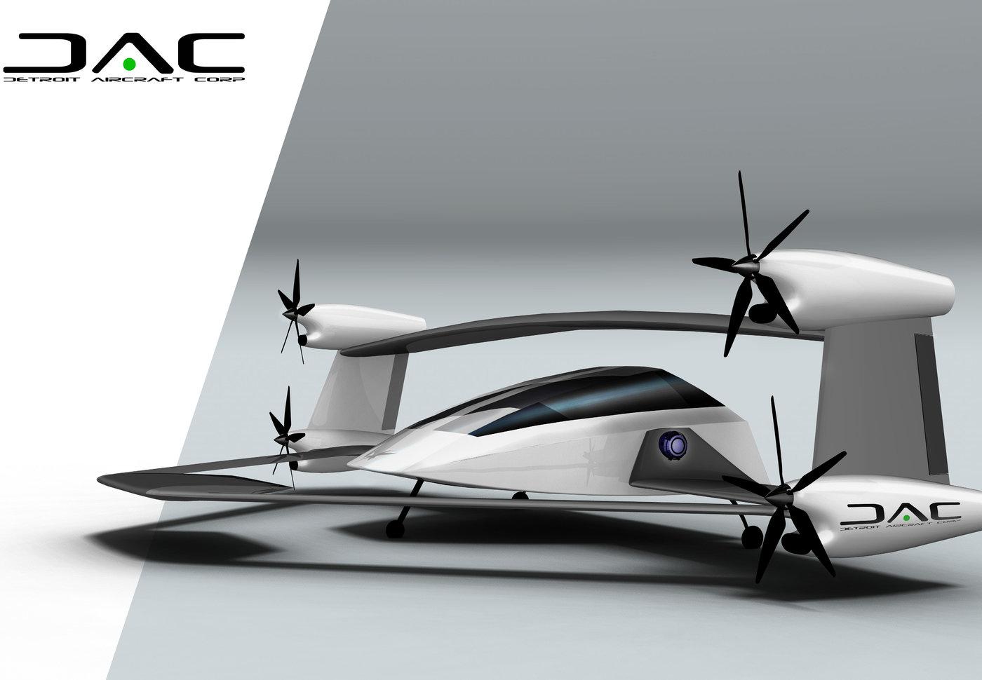 Vtol Aircraft Design For Dac By Shabtai Hirshberg At