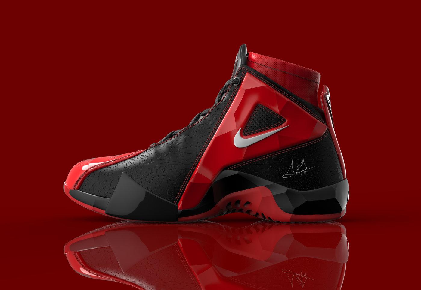 Scottie Pippen Nike Shoe by Tomislav