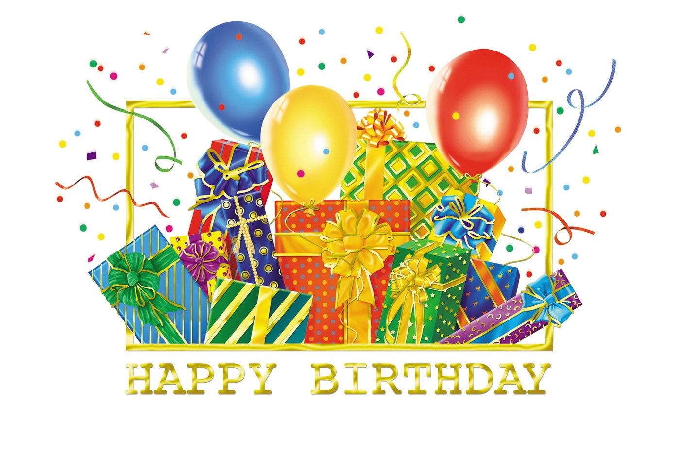 Открытка с днем рождения по английскому языку для детей