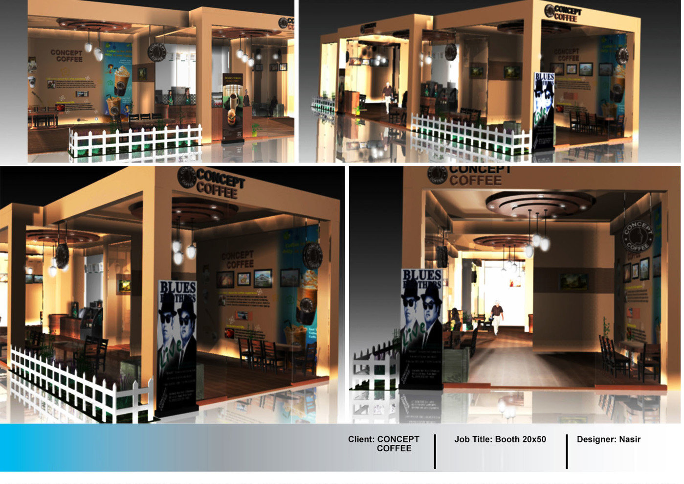 Property Exhibition Booth Design : Booth design by nasir uddin at coroflot
