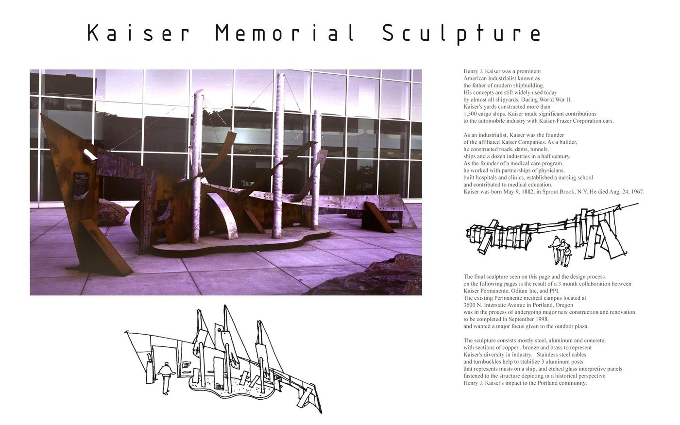 Kaiser Interpretive Sculpture by Greg Garrett at Coroflot com
