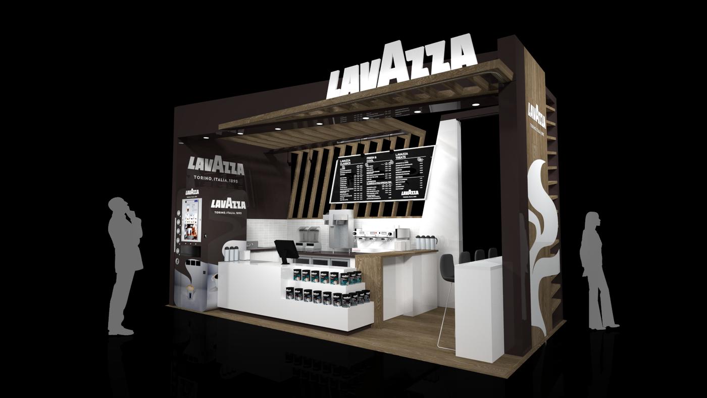 Lavazza Retail Kiosk By David Mclaren At Coroflot Com