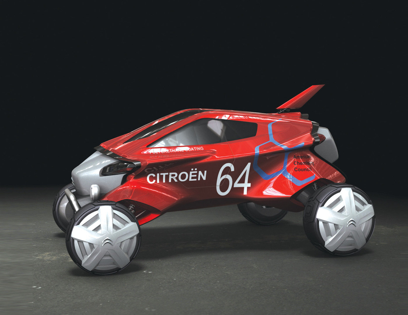 2020 Dakar Rally Concept by yuyol lee at Coroflot.com