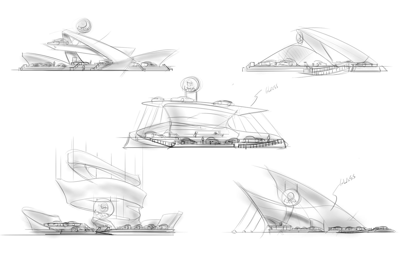 lotus exhibition design concept by scott martin at