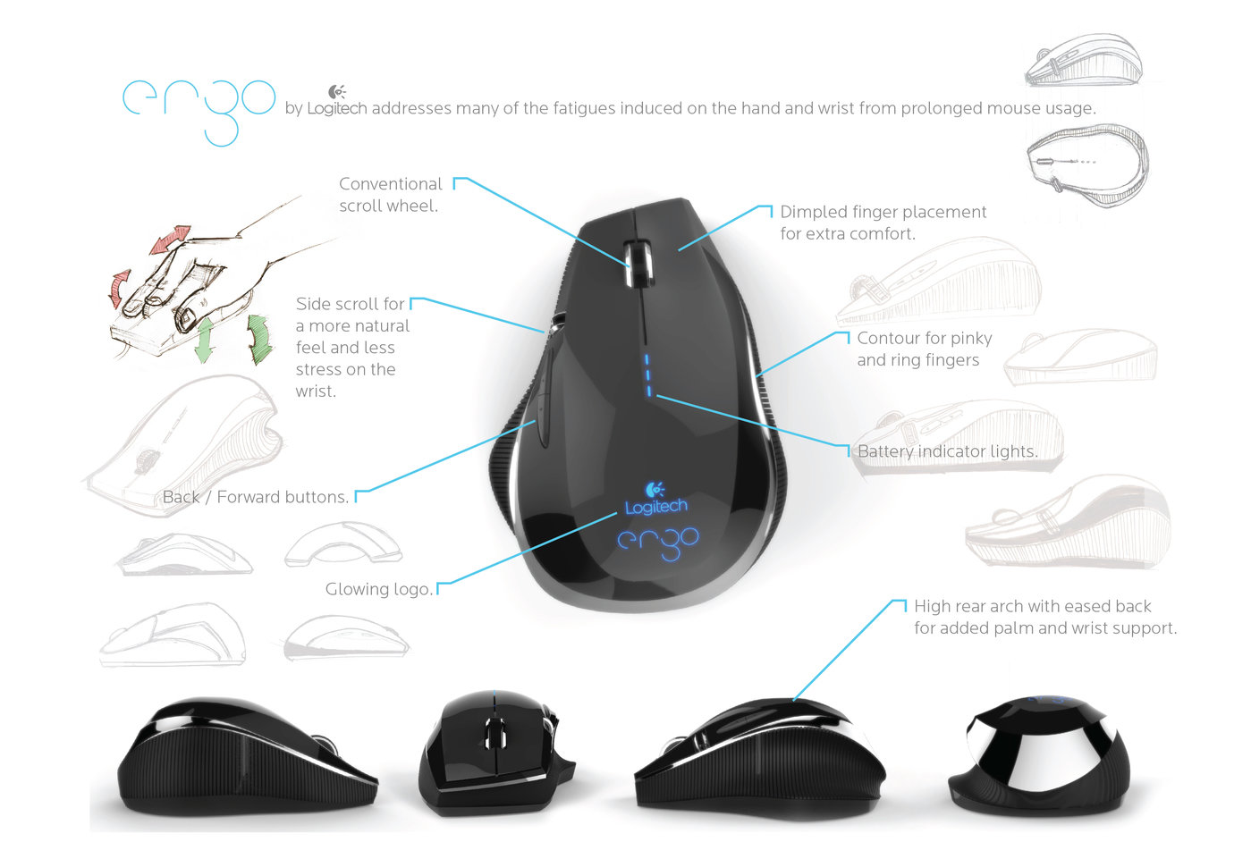 Computer Mouse By Christopher Michaud At Diagram