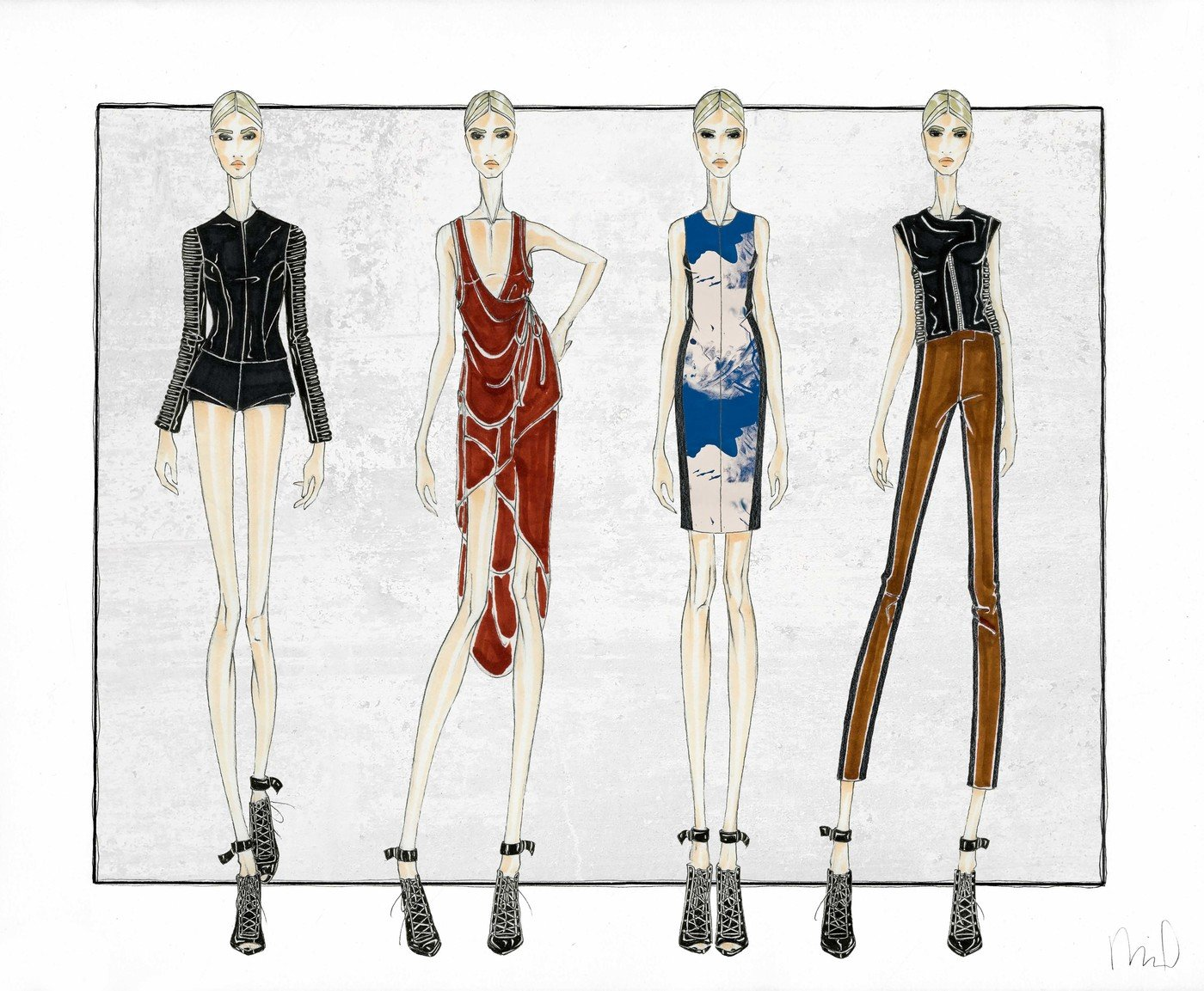 Fashion Design Bauhaus Women S Contemporary Rtw Concept By Miranda Traczyk At Coroflot Com