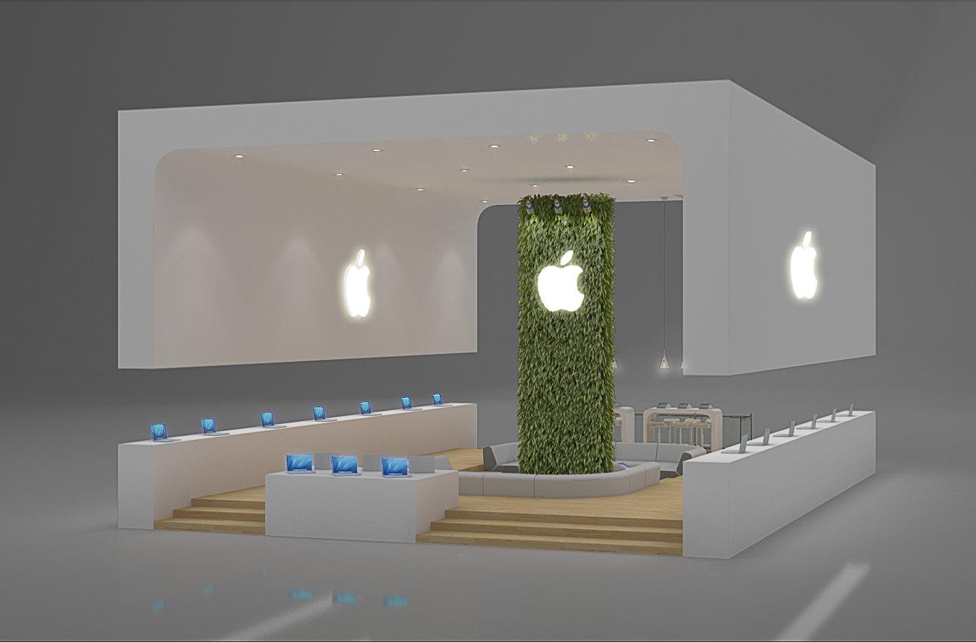 Exhibition design apple by leticia velasco at for It design