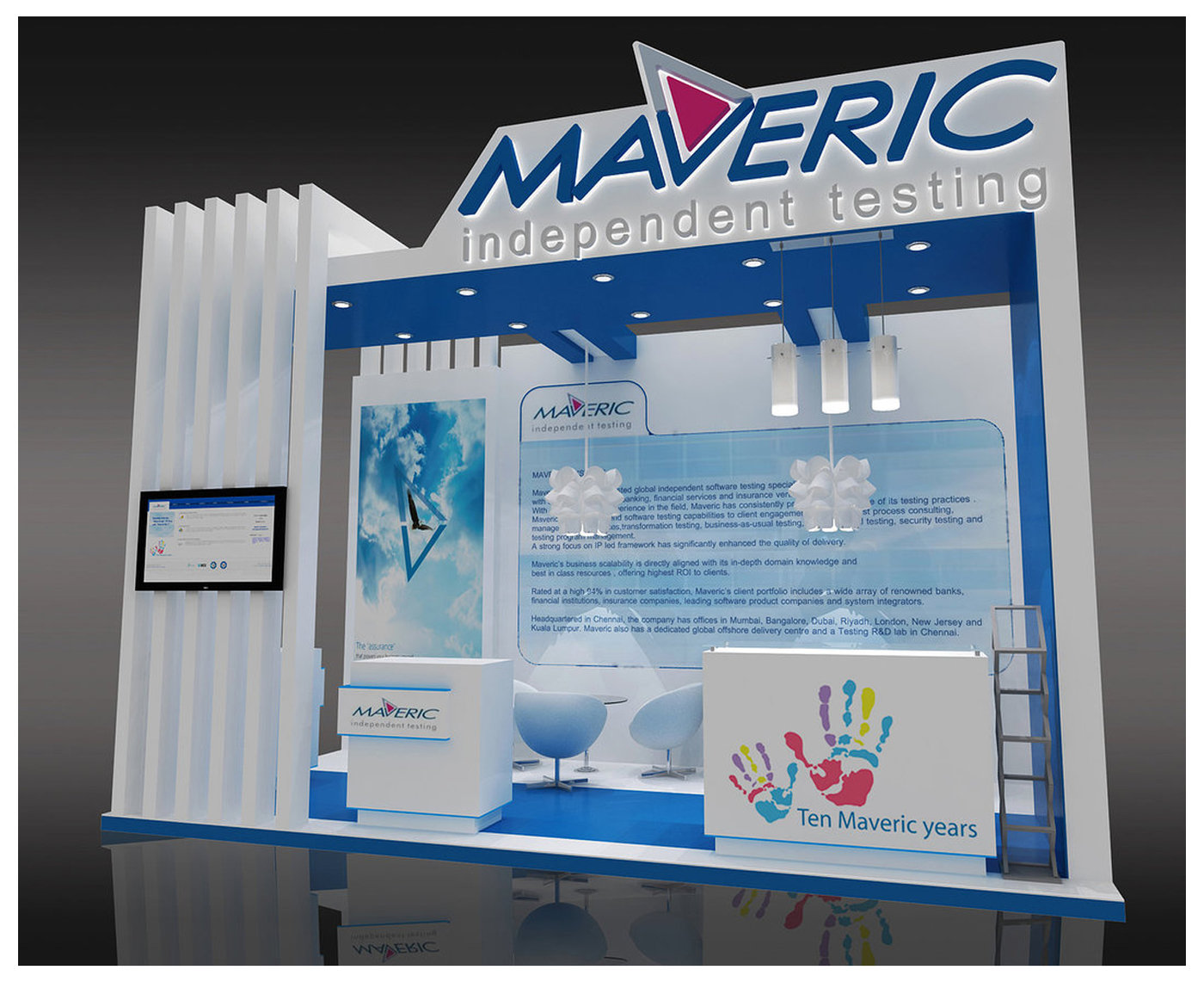 EXHIBITION STAND DESIGNS by Jemmica Ann Bolor Santos at