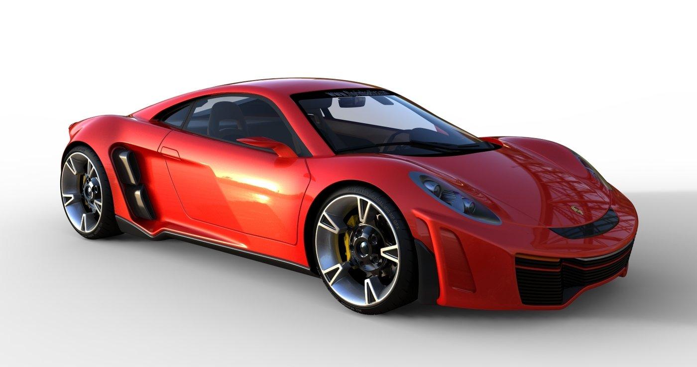 Porsche 1 By Florin Baetica At Coroflot Com