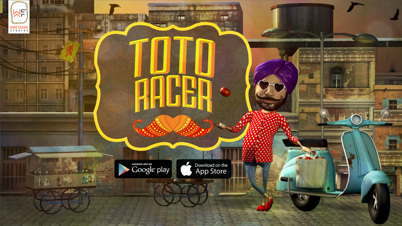 Toto Racer - 3D Mobile Game by Saumitra Kabra at Coroflot com