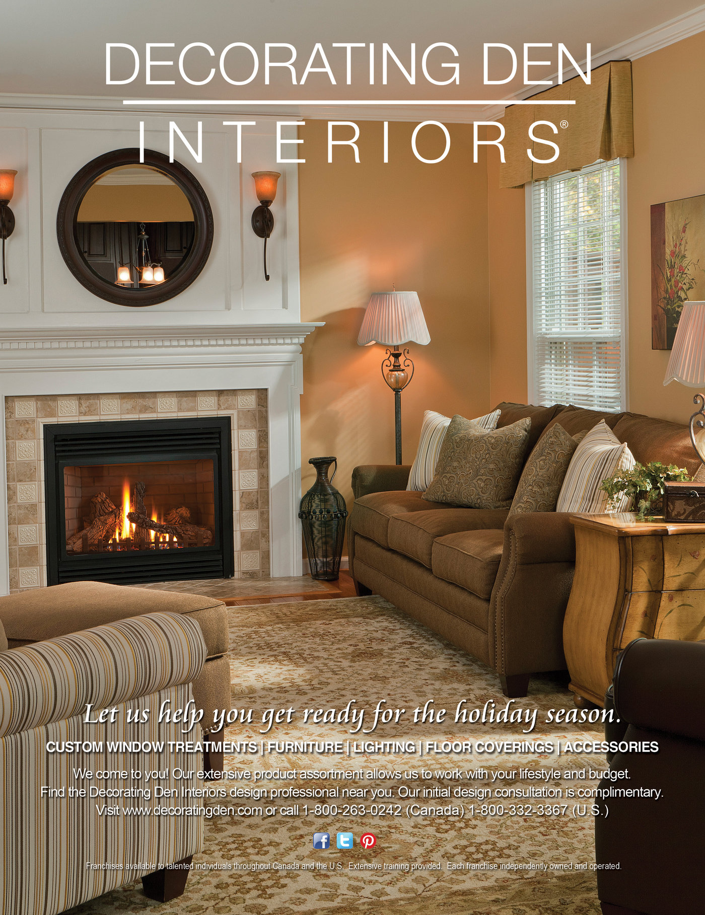 Decorating Den Interiors - 2013 Advertising by Kaitlin ...