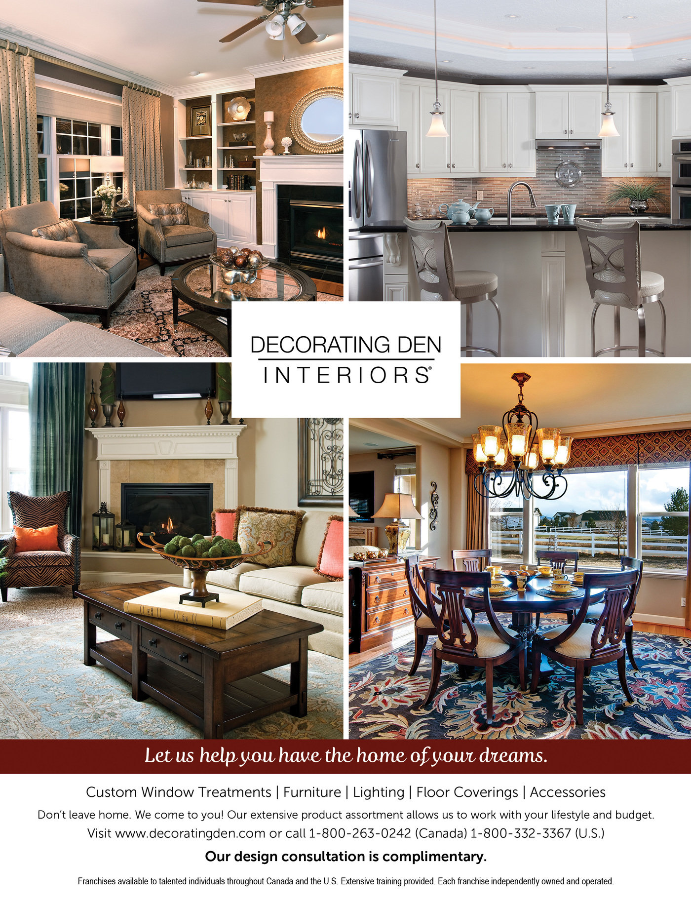Decorating Den Interiors - 2014 Advertising by Kaitlin ...