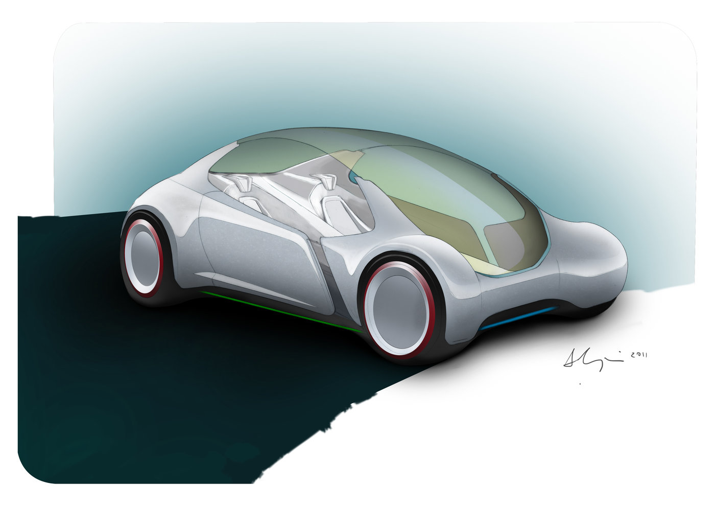 future cars 2050 - HD 4677×3307
