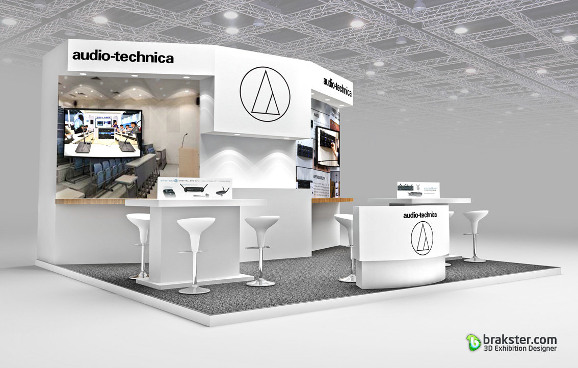 Exhibition Booth Assistant : How to light a trade show booth