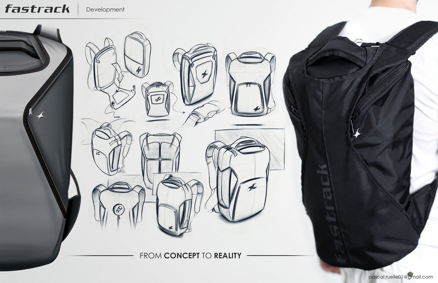 Fastrack - bags by pascal ruelle at Coroflot.com