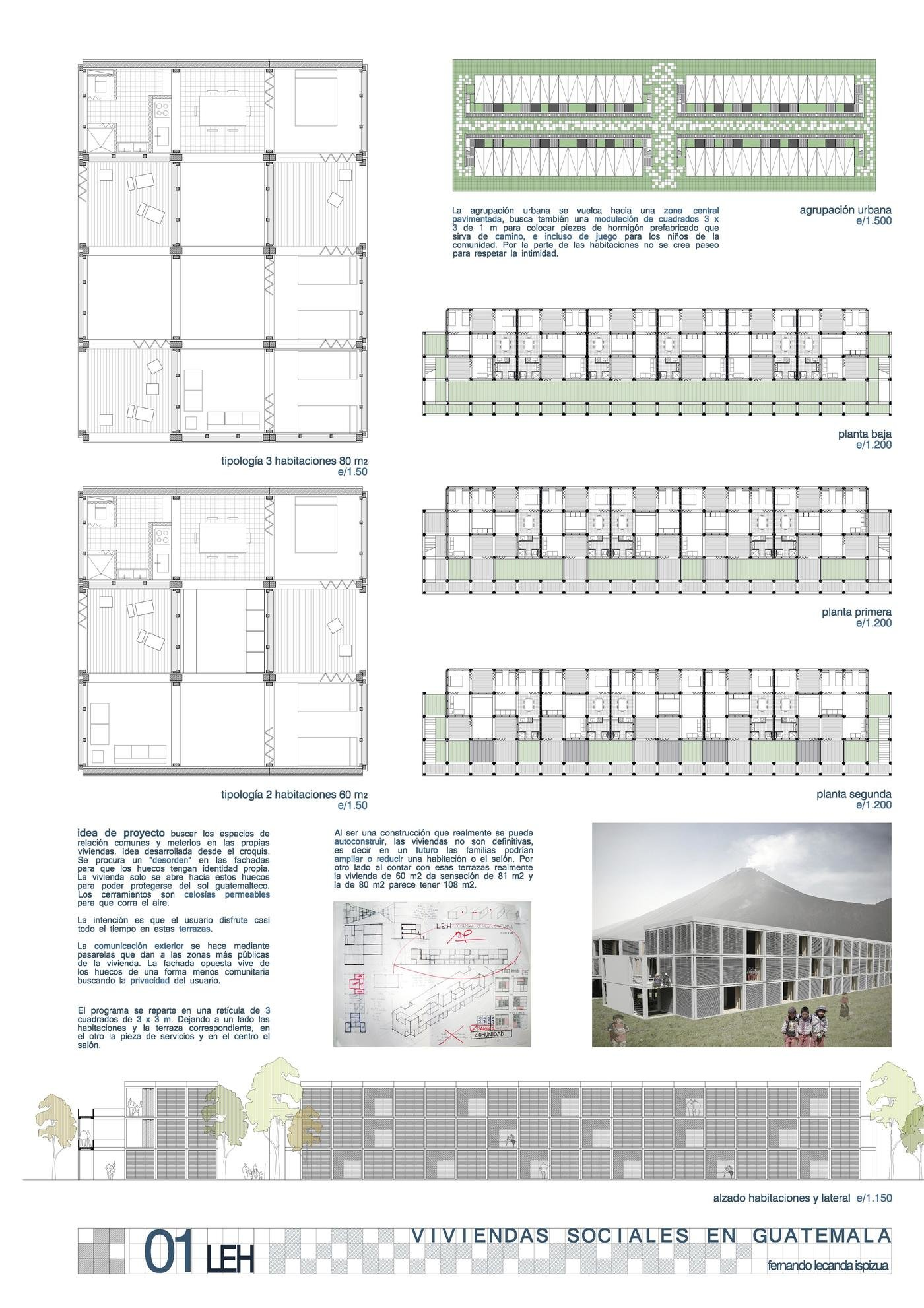 Social Housing Guatemala By Fernando Lecanda At Coroflot Com