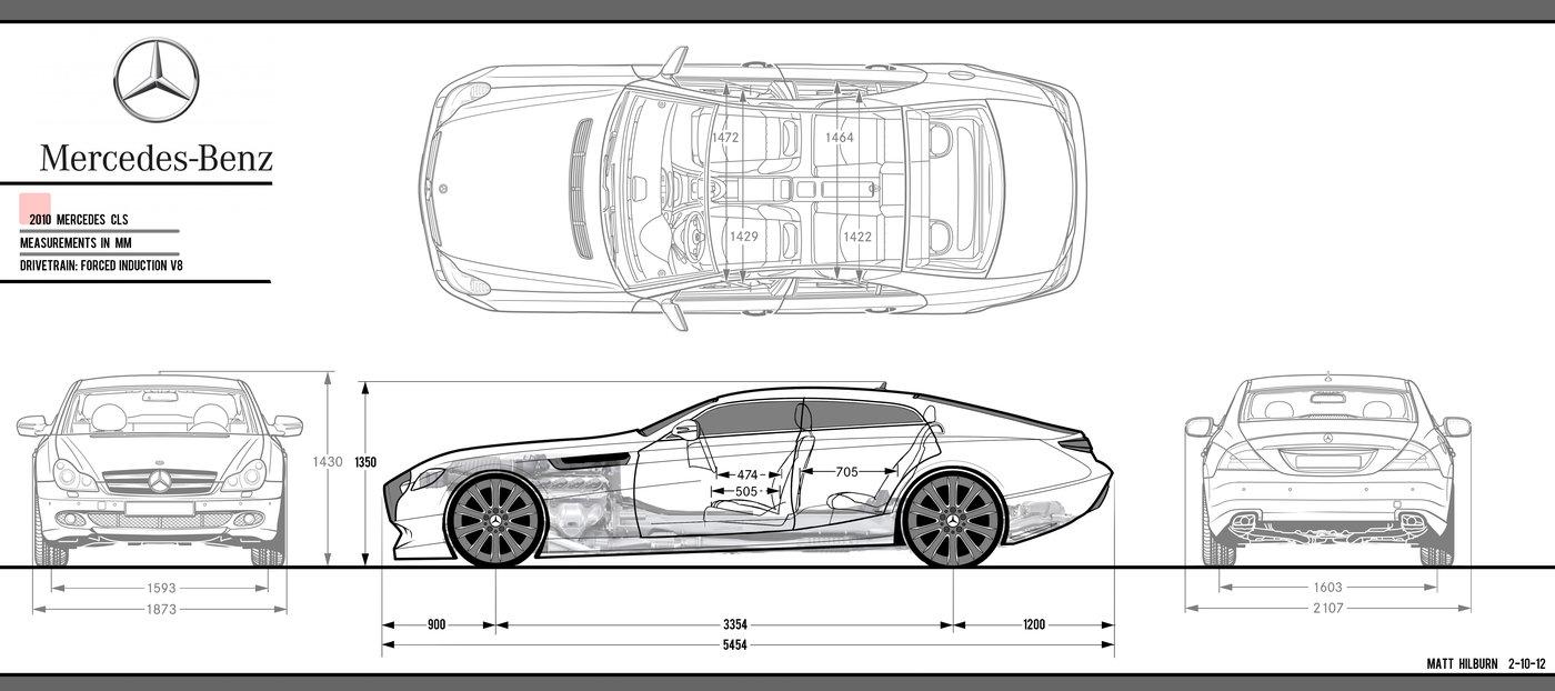 Mercedes project 2012. Interior/Exterior/Model by Matt Hilburn at ...