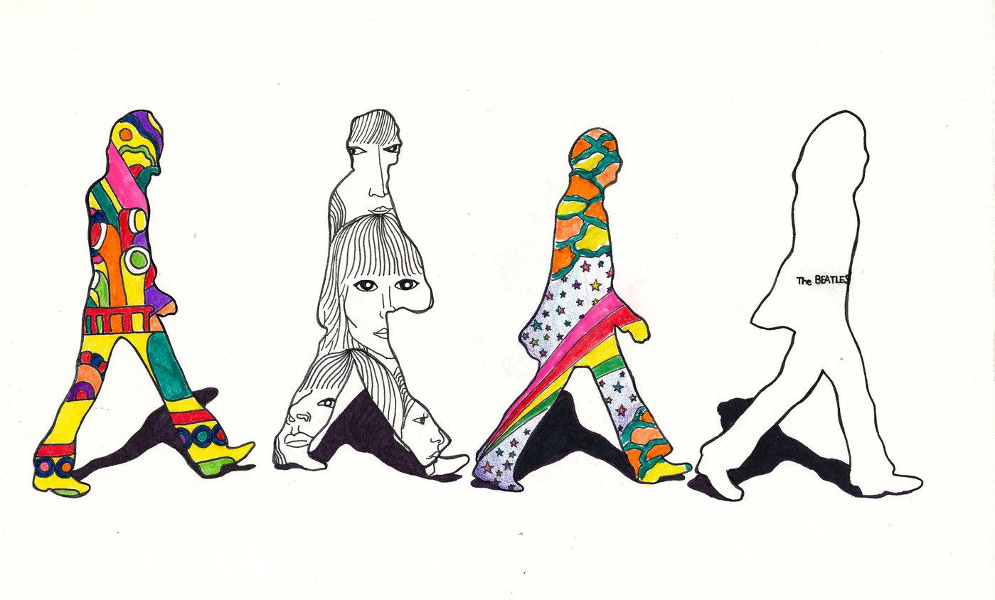 Beatles Mural By Daryl Choa At Coroflot