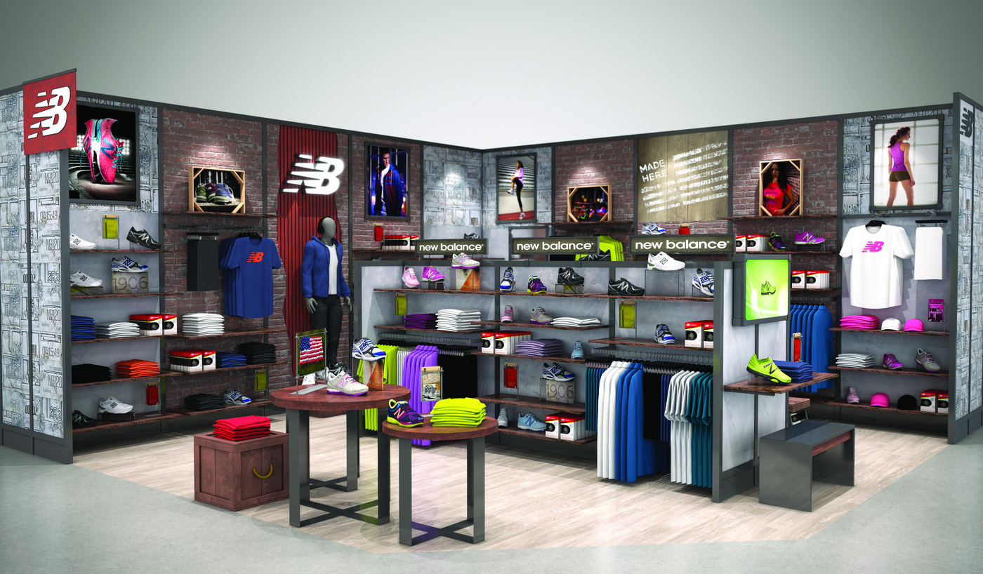 New Balance Stores Amp Shop In Shops By David Kelly At